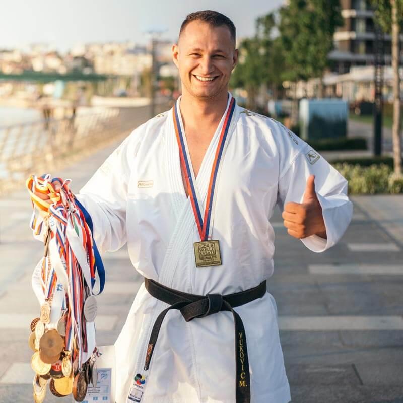 Personal Trainer Dubai - Head Coach Milos