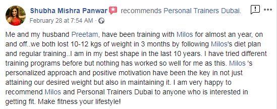 Personal Trainer Dubai - Review