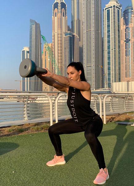 Female Personal Trainer Nevena in Dubai