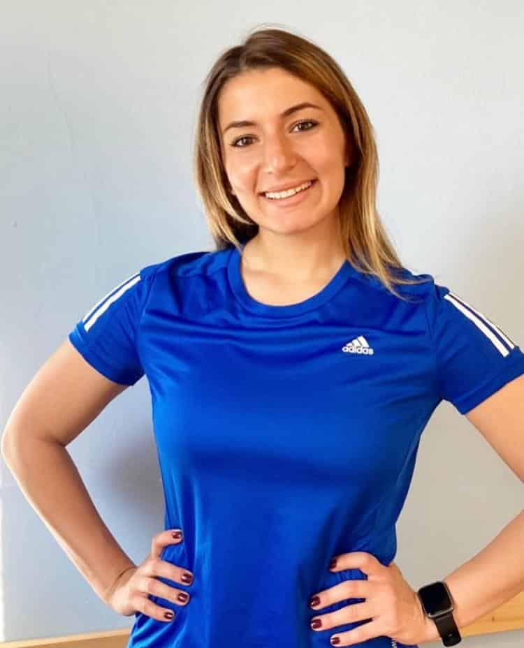 Personal trainer Anja